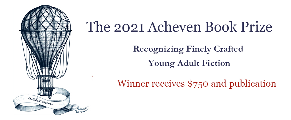 The 2021 Acheven Book Prize for Young Adult Fiction